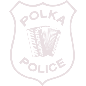 Polka Police Logo Transparent Square white