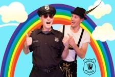 Polka Police Rainbow
