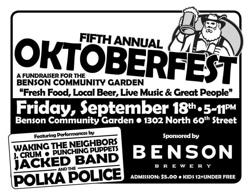 Benson Garden Oktoberfest 2015